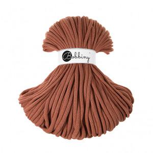Bobbiny Premium Macramé Cord Yarn, Terra Cotta, 9 mm.