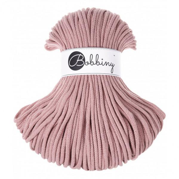 Bobbiny Premium Macramé Cord Yarn, Blush, 5 mm.