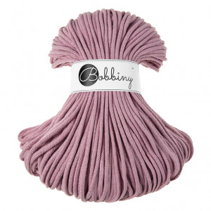 Bobbiny® Premium Macramé Cord Yarn, Dusty Pink, 5 mm.