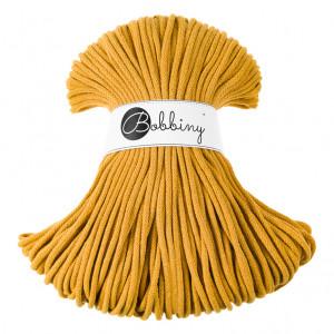 Bobbiny® Premium Macramé Cord Yarn, Mustard, 5 mm.