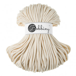 Bobbiny® Premium Macramé Cord Yarn, Natural, 5 mm.