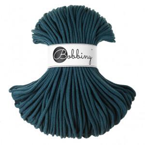 Bobbiny® Premium Macramé Cord Yarn, Peacock Blue, 5 mm.