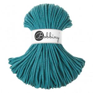 Bobbiny® Premium Macramé Cord Yarn, Teal, 5 mm.