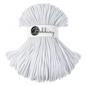 Bobbiny® Premium Macramé Cord Yarn, White, 5 mm.