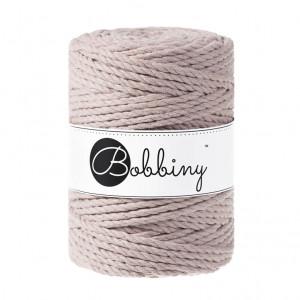 Bobbiny Premium Macramé Rope, Pearl, 5 mm.