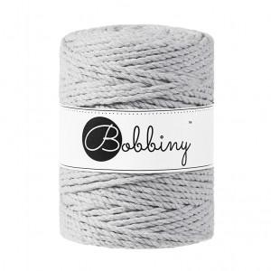 Bobbiny® Premium Macramé Rope, Light Grey, 5 mm.