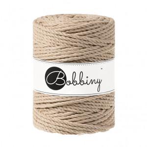 (PREORDER) Bobbiny Premium Macramé Rope, Sand, 5 mm.