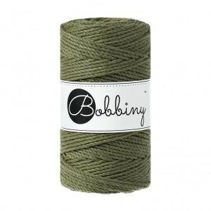 Bobbiny® Premium Macramé Rope, Avocado, 3 mm.