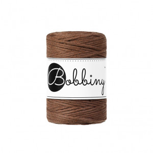 Bobbiny Premium Macramé String, Mocha, 1.5 mm.