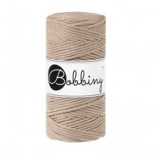 Bobbiny Premium Macramé String, Sand, 3 mm.