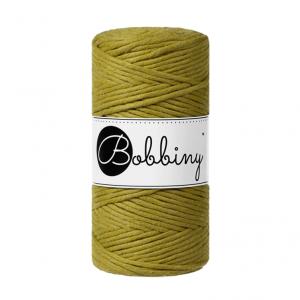 (PREORDER) Bobbiny Premium Macramé String, Kiwi, 3 mm.