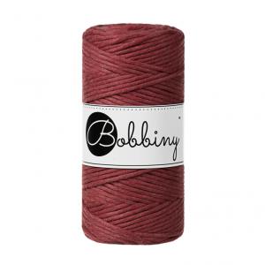 (PREORDER) Bobbiny Premium Macramé String, Wild Rose, 3 mm.