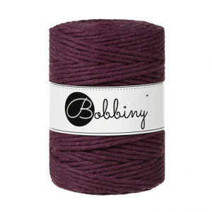 Bobbiny Premium Macramé String, Blackberry, 5 mm.