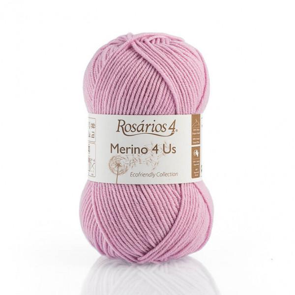 Rosarios 4® Merino 4 Us Yarn - Pink (42)