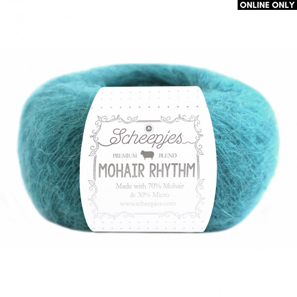 Scheepjes Mohair Rhythm Yarn - Lindy (679)