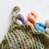 Dunya Market Bag Crochet Pattern + Jute Bag