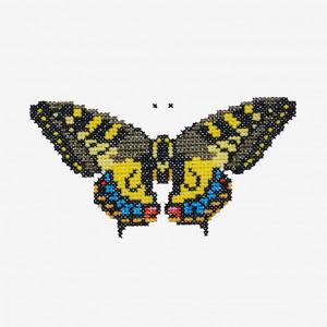 Butterfly Pattern in DMC® Mouliné Spécial®