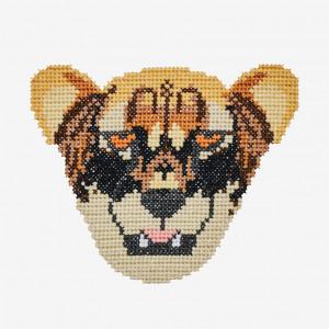 Cheetah Pattern in DMC® Mouliné Spécial®