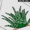 Aloe Pattern in DMC® Mouliné Spécial®