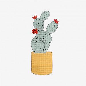 Cactus Pattern in DMC® Mouliné Spécial®
