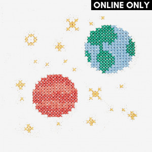 Earth and Mars Pattern in DMC® Mouliné Spécial®
