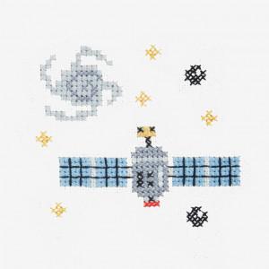 Satellite Pattern in DMC® Mouliné Spécial®