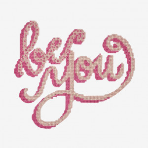 Be You Pattern in DMC® Mouliné Spécial®