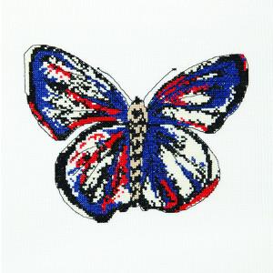 Butterfly Kate Pattern in DMC® Mouliné Spécial®