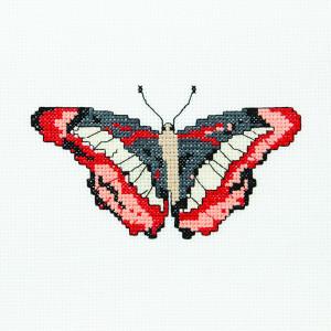 Butterfly Lana Pattern in DMC® Mouliné Spécial®