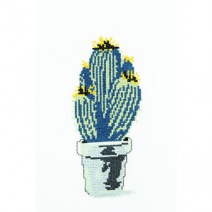 Desert Cacti Pattern in DMC® Mouliné Spécial®
