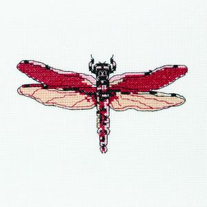 Dragonfly Diana Pattern in DMC® Mouliné Spécial®