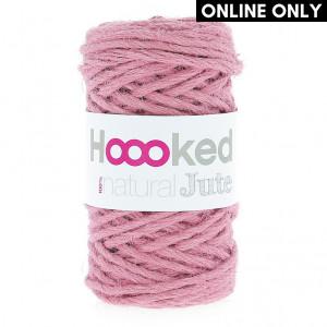 Hoooked® ™ Natural Jute Yarn - Tea Rose (JT002)