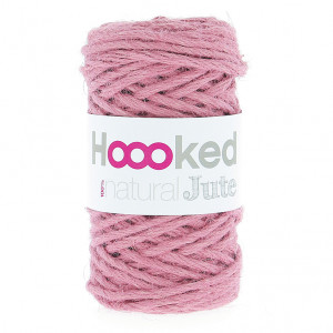Hoooked  Natural Jute Yarn - Tea Rose (JT002)