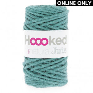 Hoooked® ™ Natural Jute Yarn - Lush Petrol (JT004)