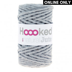Hoooked® ™ Natural Jute Yarn - Grey Mist (JT006)