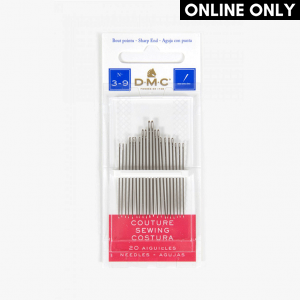 DMC Sewing Needles, Size 3 to 9