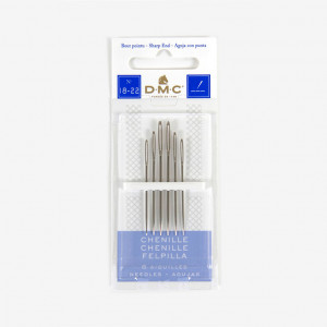 DMC Chenille Needles, Size 18 to 22