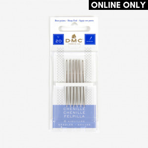 DMC Chenille Needles, Size 20
