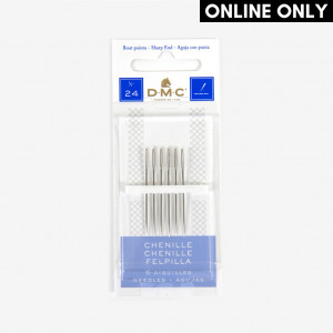 DMC Chenille Needles, Size 24