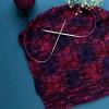 KnitPro 80 cm. Nova Brass Fixed Circular Knitting Needle - 2.5 mm.