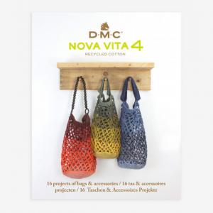 DMC Nova Vita 4 Knitting, Crochet and Macramé Pattern Book - Bags & Accessories