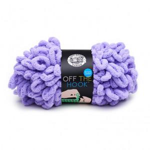 Lion Brand Off The Hook Yarn - Purple Heart (146)