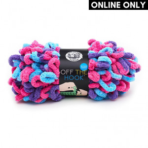 Lion Brand Off The Hook Yarn - Hugs and Kisses (201)