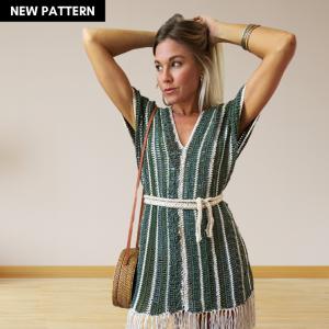 The Oleta Poncho Crochet Pattern