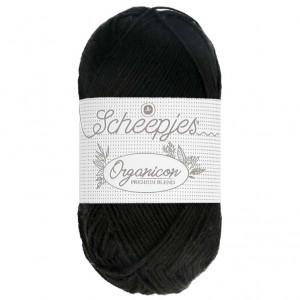 Scheepjes Organicon Yarn - Ebony (218)