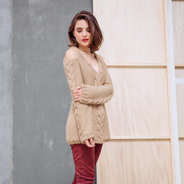 Womens Tunic Pattern In Phildar Partner 6 At Yarns Dubai