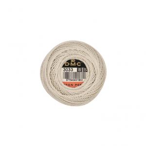 DMC Pearl Cotton No. 8 Crochet, Cross Stitch & Embroidery Thread (3033)
