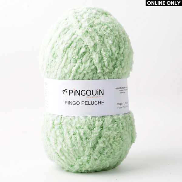 Pingouin® Pingo Peluche Yarn - Anis
