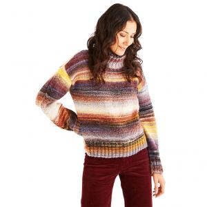 DMC Pirouette Pattern - Roll Neck Sweater