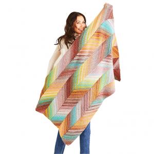 DMC Pirouette Pattern - Bias Blanket